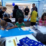Impressionen vom gemeinsamen Stand auf dem Fanfest am 15.09.2012