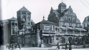Synagoge und Künstlerhaus 1901